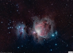 Capture, Process, Post-Process M42 Orion Nebula
