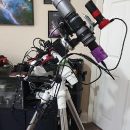 My Field Setup: WO SpaceCat51, SkyWatcher EQM-35 Pro, Altair Astro 183C, Stellarmate Raspberry Pi